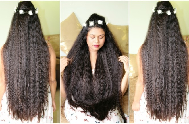 easy heatless curls hairstyle for long and medium hair